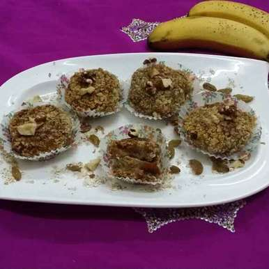Photo of Banana and Dates Cutlets by Zeenath Muhammad Amaanullah at BetterButter