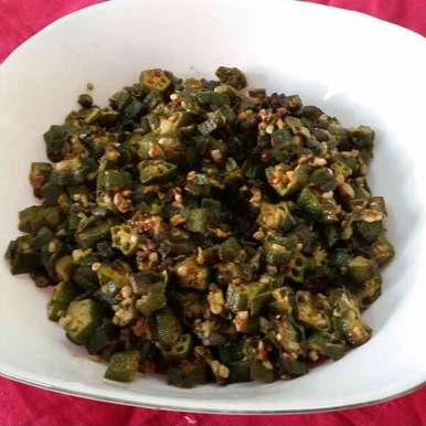 Photo of Bhindi fry by Zeenath Muhammad Amaanullah at BetterButter