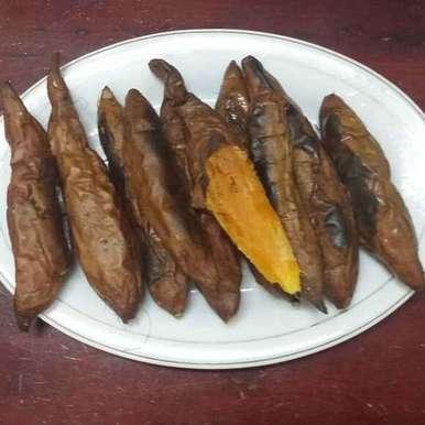 Photo of Baked Sweet Potatoes... by Zeenath Muhammad Amaanullah at BetterButter